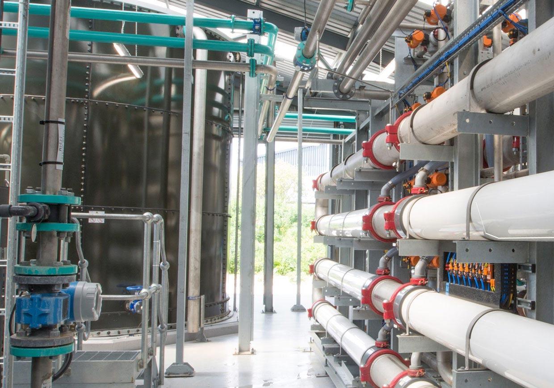 طراحی و اجرای سیستمهای تصفیه آب