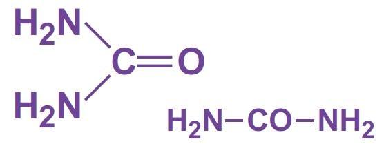 فرمول شیمیایی اوره